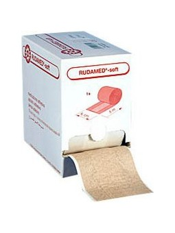 Rudamed soft wondpleister 4 cm x 5M
