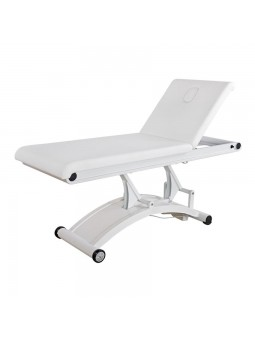 Massagetafel electrisch Hilow Deluxe wit