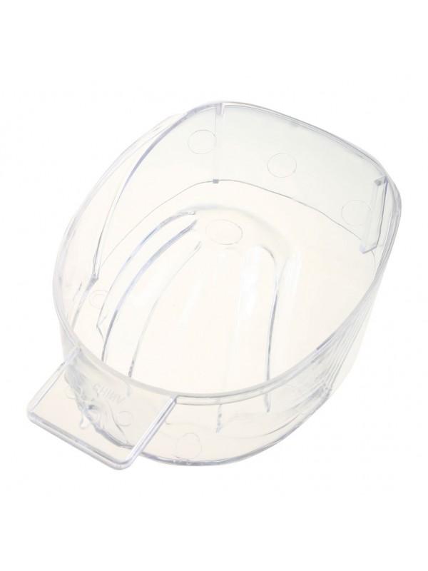 Manicurebowl kunstof clear