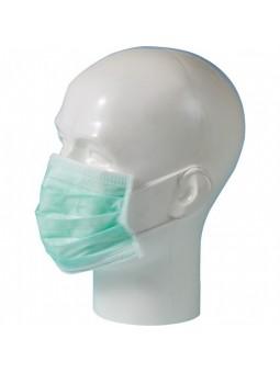 Mondmaskers 3-laags groen 50 st
