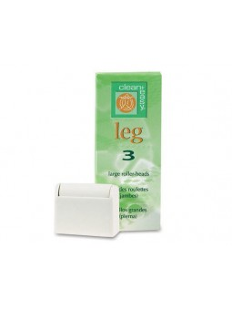 Clean & Easy Rollers Leg Large (3St)