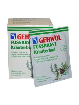 Gehwol Fusskraft Kruidenbad doos met 10 zakjes