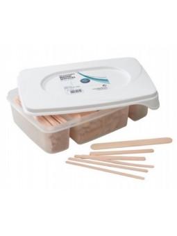 Houten spatels kit 400 st