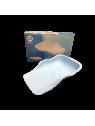 Opvangschaal flexibel licht blauw