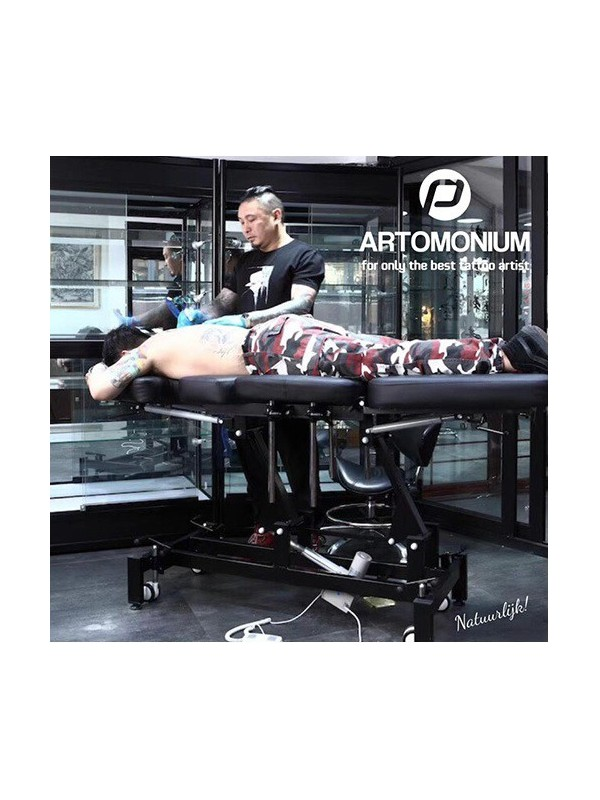 Tattoo Behandelstoel Artomonium Zwart