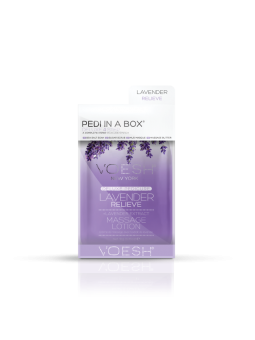 VOESH Pedi in a Box 4 Step - Lavender Relieve