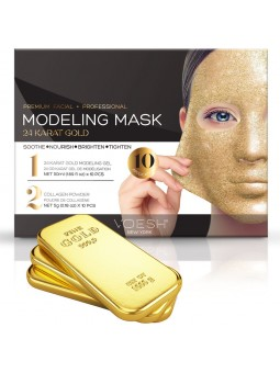 Voesh Facial Modeling Mask 24K GOUD (10 applications)