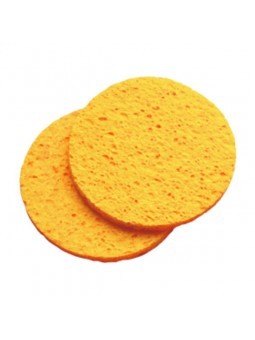 Cosmetische cellulose masker spons 2 stuks