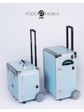 PodoMobile Maxi Pedicure Trolley Grey Blue