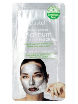 Deep Cleansing Platinum Peel Off Masker 10 ml