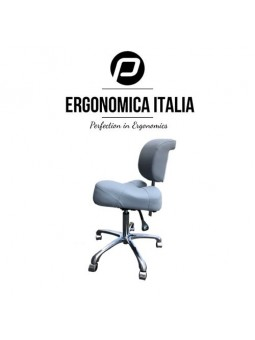 Tabouret Ergonomica Italia Royal Grey Grijs