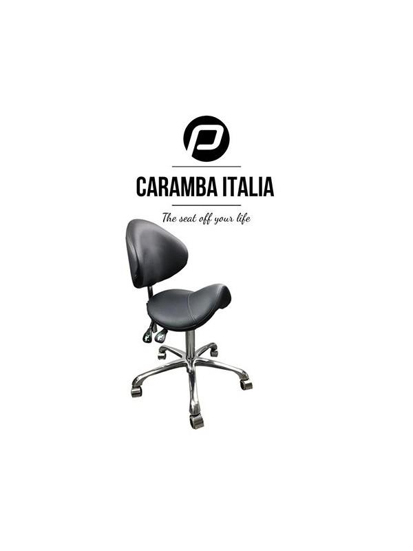 Tabouret Caramba Italia Zwart