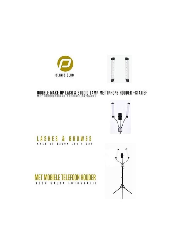 Double Make-Up Lash & Studio Lamp