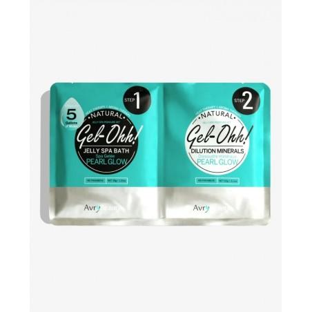 Gel-Ohh Jelly Spa Pedi Bath - Pearl Glow