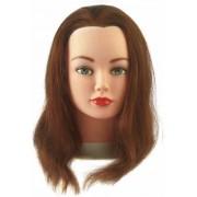 Oefenhoofden met 100% menselijk haar voor Kappers